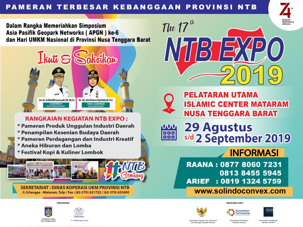 BALIHO NTB EXPO 2019