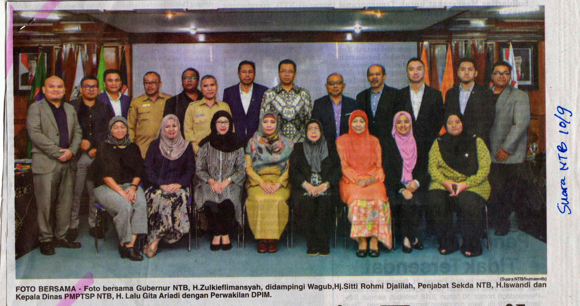 Investor Malaysia Tertarik Kelola Sampah NTB