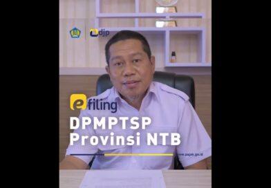 E filing DPM PTSP Provinsi NTB