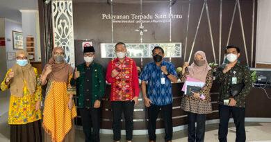 Menerima Kunjungan dari BPJS Ketenagakerjaan Cabang NTB untuk Silaturahmi dan Audiensi