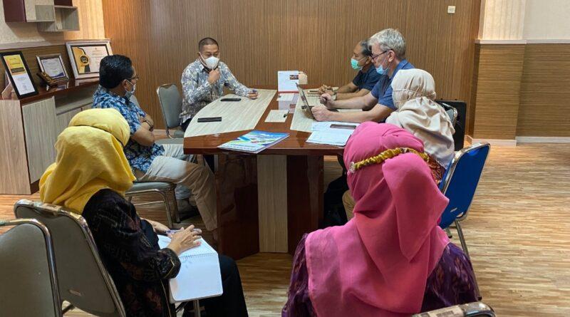 Menerima Kunjungan dari PT. Eco Solution Lombok, Selasa 25 Mei 2021