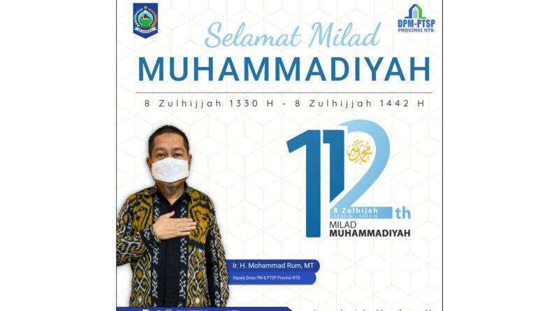 Selamat Milad Muhammadiyah ke-112